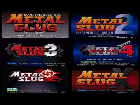 Descargar Pack Metal Slug 1,2,3,4,5,X para pc full portable español 1 link 2013