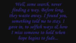 Dear God by Avenged Sevenfold *Lyrics*