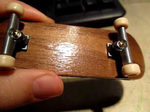 PRO-WOOD FINGERBOARD Exotic Zebra Classic mold REVIEW.