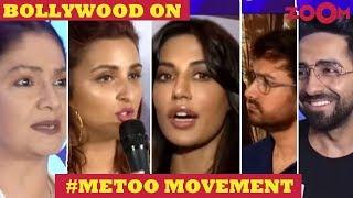 Bollywood REACTS to Tanushree Dutta - Nana Patekar controversy & #MeToo movement