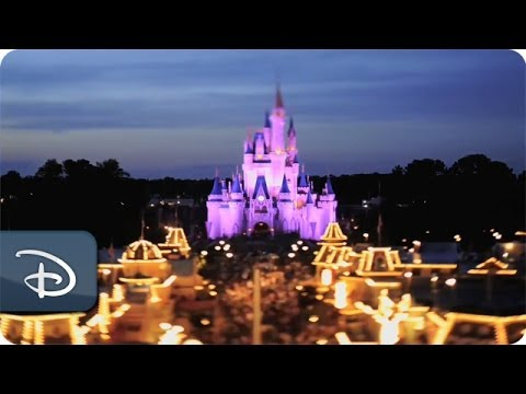 A Model Day at Magic Kingdom - Exclusive Disney Parks Tilt-Shift Video