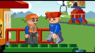LEGO Train-Driving the colorful LEGO  Everyday knowledge for kids KidCareMA
