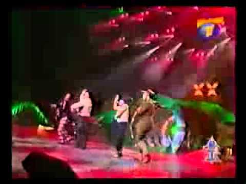 группа Экс ББ на фестивале Песня Года 99