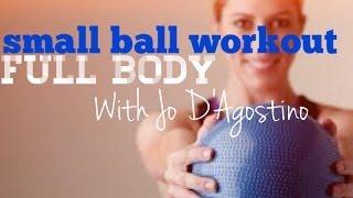 40 Minute | Small Ball Mat Workout = Body Burn!