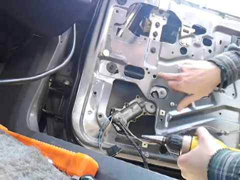 How To Replace Car Window Motor Ex Thirdgen Firebird