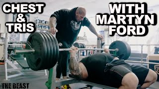 ROAD TO 700LBS  Ep 6 | Chest with MARTYN FORD