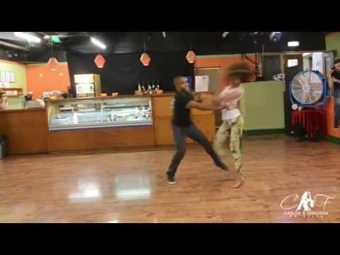 Carlos & Fernanda Zouk demo in London - Let me Love You by Mario