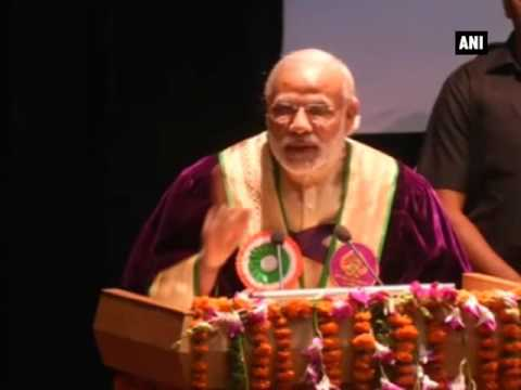 PM Modi motivates Mata Vaishno Devi University students