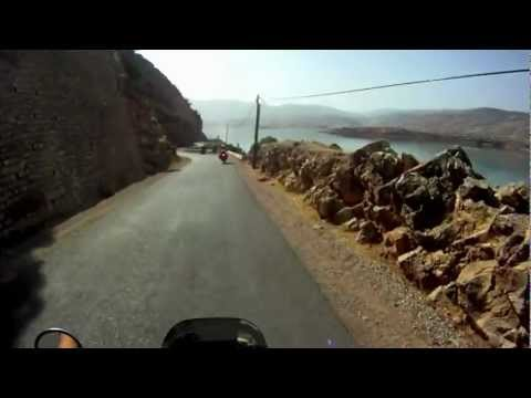Motorcycle Expedition - video footage of the