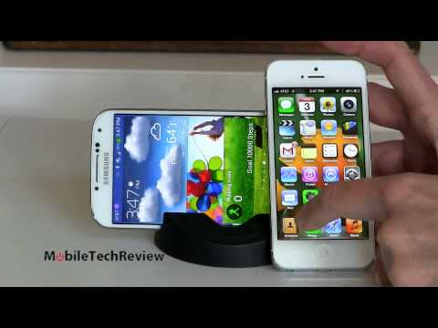 Samsung Galaxy S4 vs iPhone 5 Comparison Smackdown