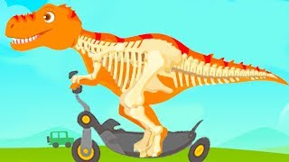 Jurassic Dig - Find Dinosaur Bones With Cute Vehicles - Fun Dino Simulator Games For Kids