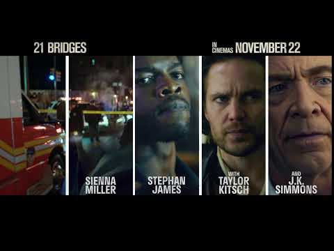 21 Bridges - 'Cast' - In Cinemas November 22