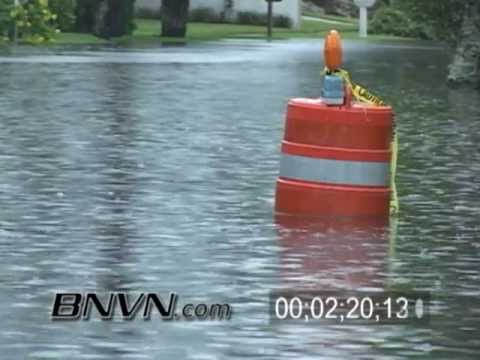6/12/2006 Tropical Storm Alberto Video From Sarasota Florida