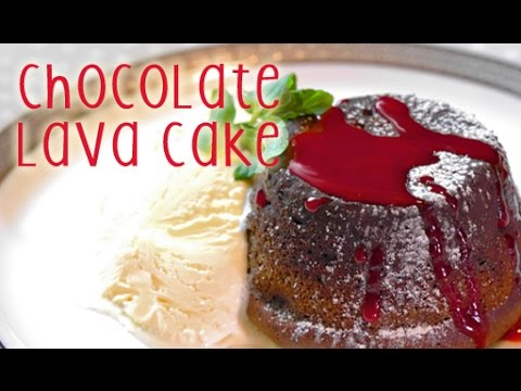 How to make Chocolate Lava Cake (RECIPE)-フォンダン・オ・ショコラの作り方