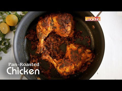 Pan-Roasted Chicken | How To Make Pan-Roasted Chicken Recipe