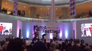 "[20151004] Bi.OW  ""iKON - Good Boy, MTBD, Sinosijak'' Dance Cover at Semifinal KPOP Festival"