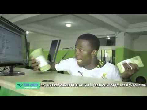 mybet sports betting Ghana commercial