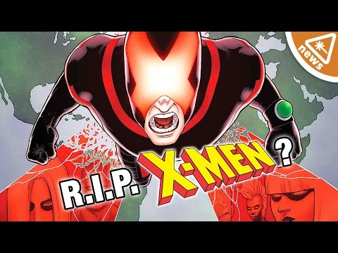 How Marvel Is Quietly Killing Off the X-Men! (Nerdist News w/ Kyle Hill & Dan Casey)