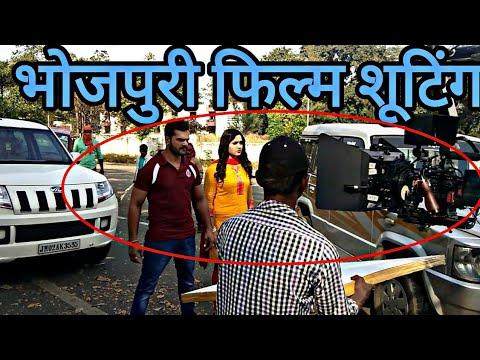 Khesari lal yadav and Kajal Raghwani Film Shooting in Ranchi Coolie no 1 2019