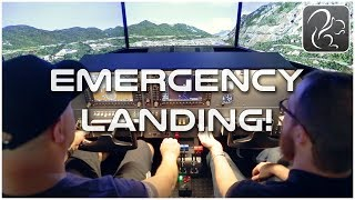 Emergency Landings w/ Jeff Favignano - TWIN SEAT Flight Sim (Virtual Fly Trip #3)