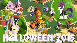 Halloween в игре My Little Pony - часть 2