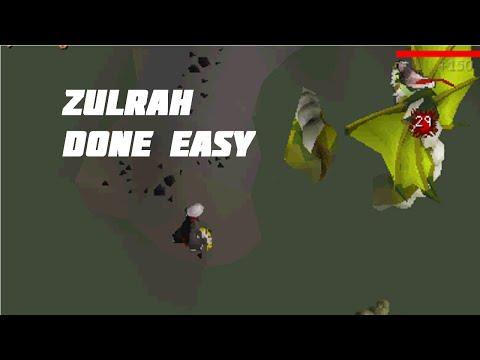 OSRS - (Detailed) Zulrah Guide Done Easy - Framed