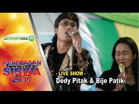 Show DEDY PITAK & BIJE PATIK  - di SMK Dewantara Sumbang