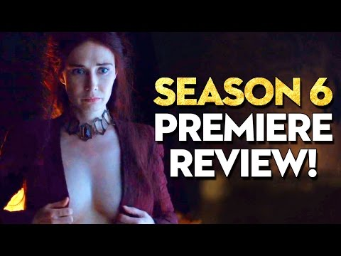 GAME OF THRONES PREMIERE REVIEWED!