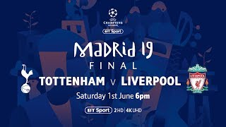 Watch Tottenham Hotspur vs Liverpool live on BT Sport39s YouTube channel