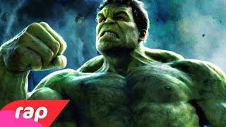 Rap do Hulk - TÔ SEMPRE COM RAIVA   NERD HITS