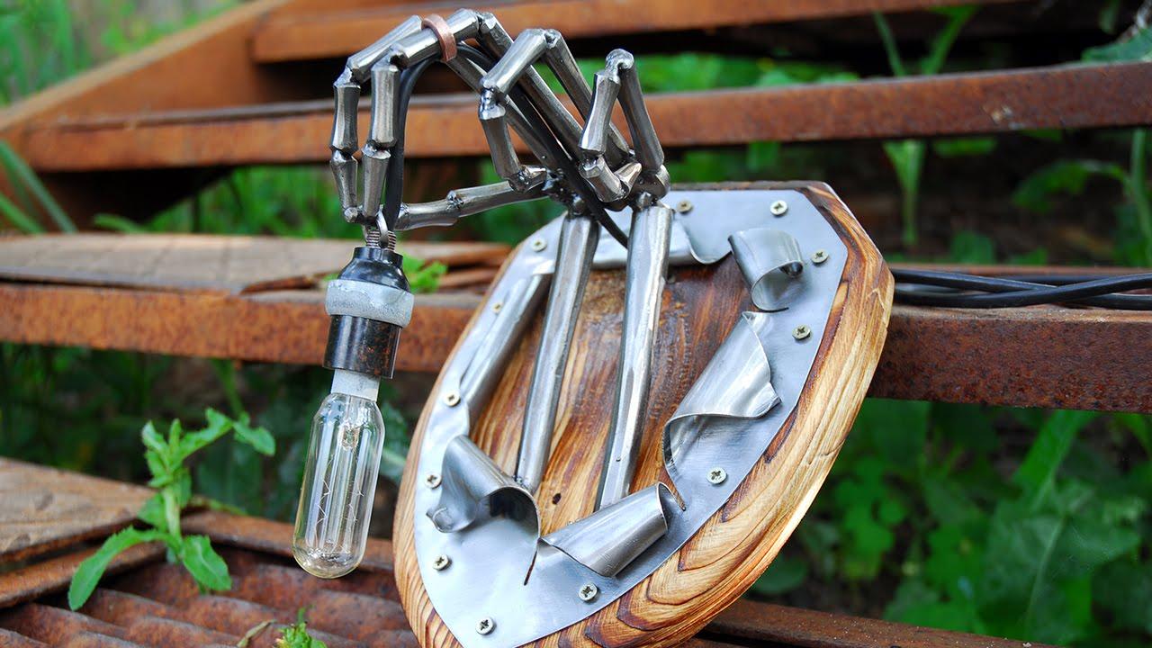 Железный фонарь своими руками