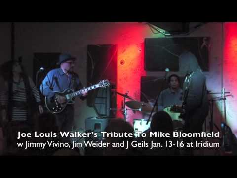 Jan. 13-16 Mike Bloomfield Tribute Joe Louis Walker, Jimmy Vivino, Jim Weider, J Geils