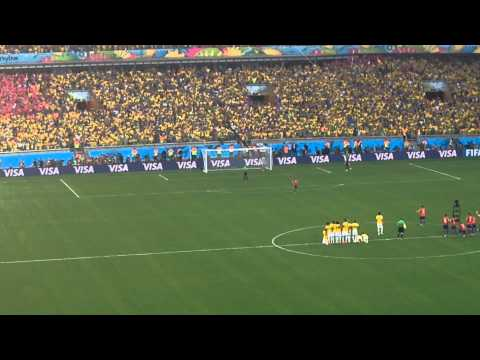 2014 FIFA World Cup: Brazil vs. Chile (Penalty Kicks)