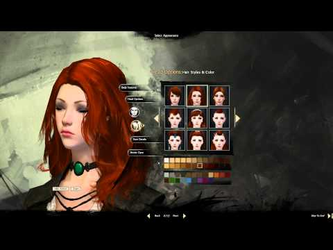 Guild Wars 2: Character Creation, Making Zybak