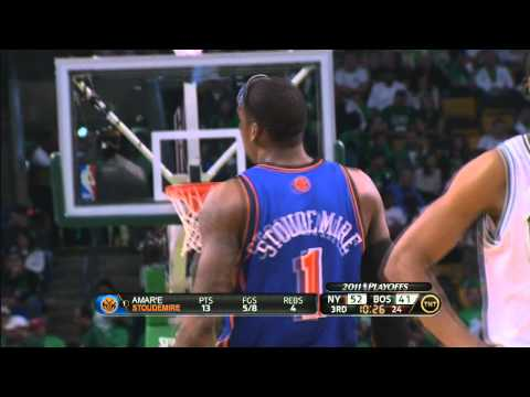 Amare Stoudemire Highlights 28 points Knicks vs Celtics Game 1 HD