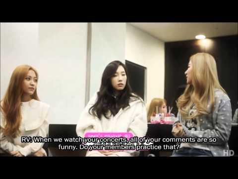 [eng Sub] 150313 Snsd Taeyeon's Advice For Red Velvet video