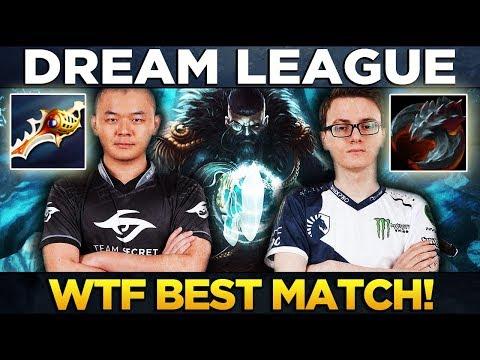 WTF Best Game of 2017? LIQUID vs SECRET - Dota 2 Dreamleague 8 Major