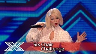 Sada Vidoo makes her bid for Judges' Houses! | Six Chair Challenge | The X Factor UK 2016