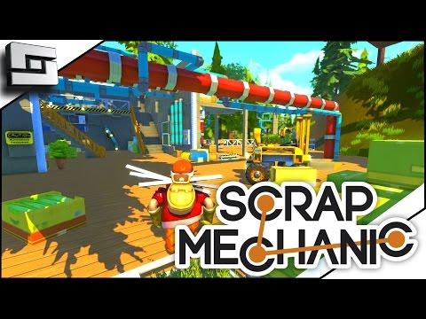 Scrap Mechanic Ep 1 - MASSIVE POTENTIAL! (Gameplay)
