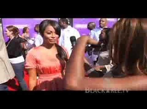 Lauren London Interview BET Awards - 'This Christmas' Video