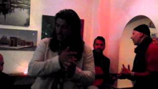 RAMON HEREDIA EN EL CAFE BARBATE DE MADRID 1