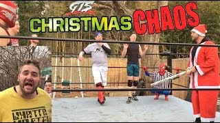 MOST SHOCKING TITLE CHANGES EVER! CHOKESLAM ON LEGOS! GTS CHRISTMAS CHAOS CHAMPIONSHIP MATCH!
