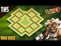 New BEST TH5 WAR/TROPHY Base 2018!! COC Town Hall 5 (TH5) War Base Design - Clash of Clans