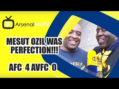 Mesut Ozil Was Perfection!!! | Arsenal  4 Aston Villa 0 | FA Cup Final
