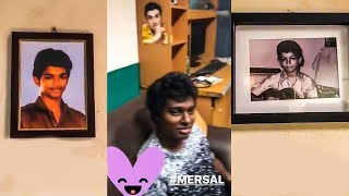 MERSAL Shooting Spot Video Out! Vijay's Childhood Picture & MGR's Connect | TK 227