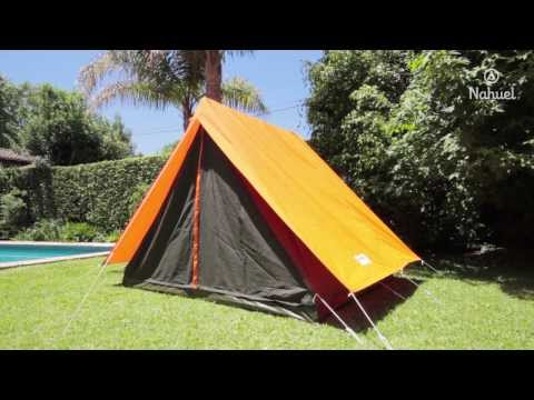 Video instructivo para el armado de carpa Canadiense