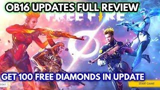 Free fire ob16 updates full review || Ob16 updates full details explain || MG MORE