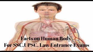 General Science for competitive Exams- Human Body Facts in simple manner