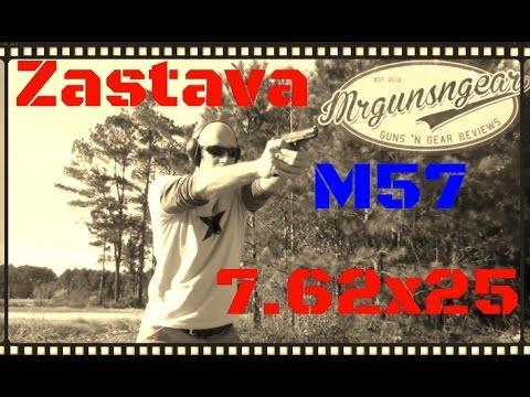 Zastava M57 7.62x25 Tokarev Pistol Review (HD)