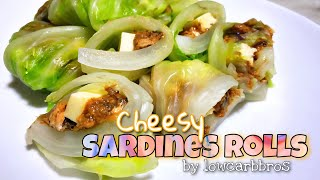 How to Cook Cheesy Sardines Rolls | Low Carb Canned Sardines Recipe | LCIF Keto Low Carb Recipe 55